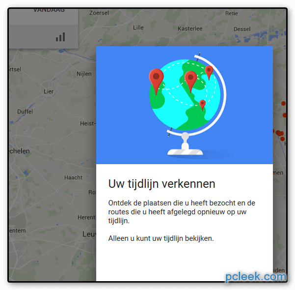 Locatiegeschiedenis Google