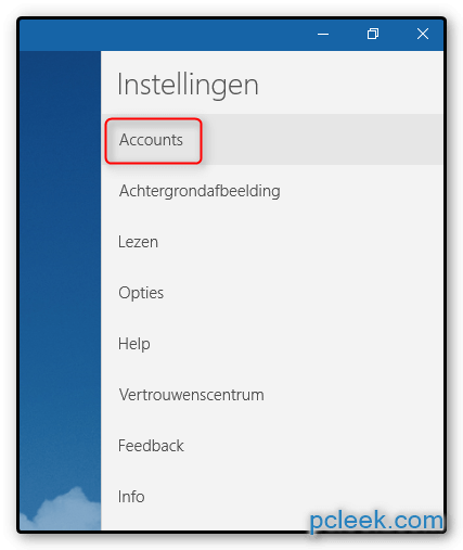 Accounts Openen App Mail