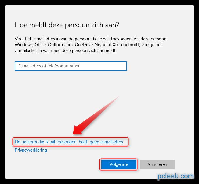 Windows 10 hoe een nieuw lokaal gebruikersaccount toevoegen - Hoe een kleedkamer aanmaken ...