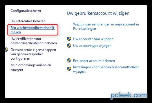 Windows Vista Wachtwoord Herstellen