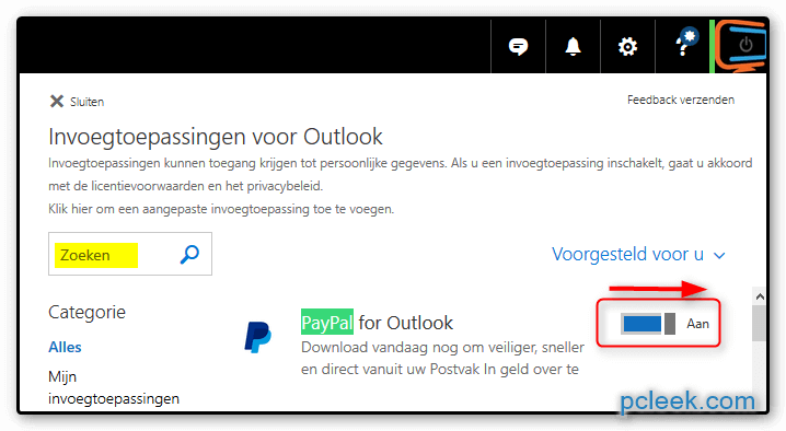 Paypal Outlook 2