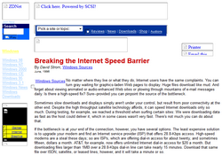 Breaking The Internetspeed