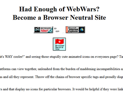 Browser Neutral