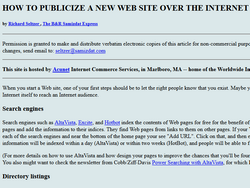 How To Publicize A Website