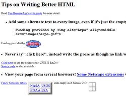 Html Writing Tips