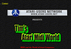 Tims Atari Midi World