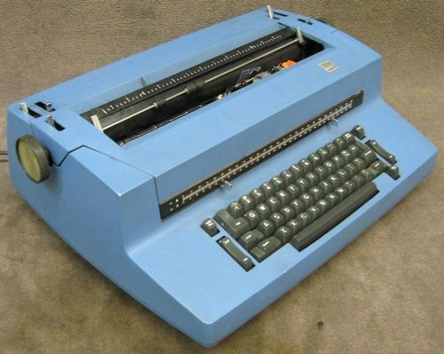 Electric Typewriter500